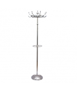 CLOTHES TREE/UMBRELLA ALUMINIUM