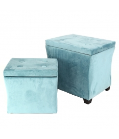 SET 2 STOOL BAUL MANHATTAN