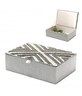 BOX FABRIC GEMSTONES RHOMBUS