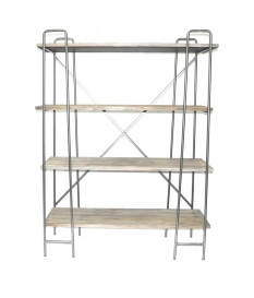 PAULONIA METAL/WOOD SHELVES