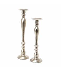 ALUMINIUM RAW CANDLE HOLDER